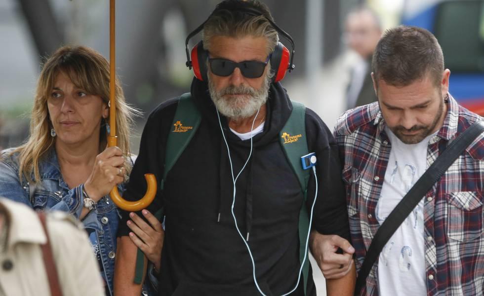 Francisco, a su llegada el miércoles a Madrid.
