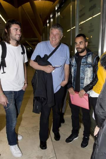 Francisco, en marzo cuando partió hacia Honduras.