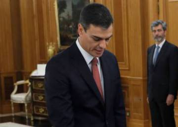 New Spanish Prime Minister Pedro Sánchez takes office at Zarzuela palace