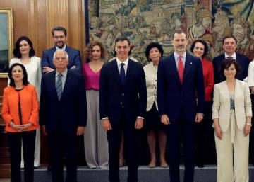 Spain's most gender-balanced government in history takes office