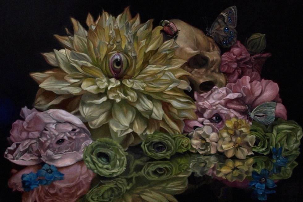 Cuadro realizado por el artista japonés Toru Kamei.