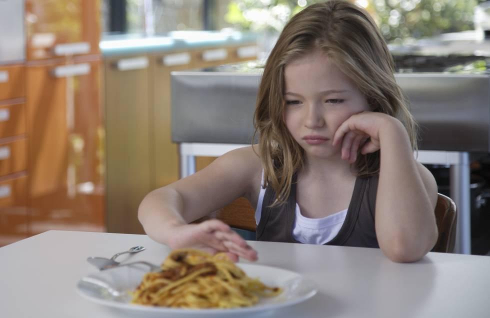 Niños De Siete Años Con Un Trastorno Alimenticio Qué Está