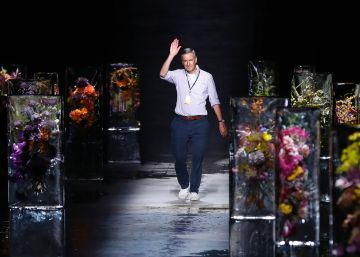 Puig gana la carrera por Dries Van Noten