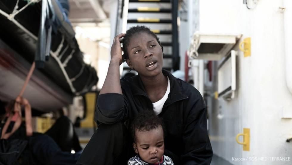 Viajan a bordo del 'Aquarius' 60 menores no acompañados que proceden de 10 países diferentes.