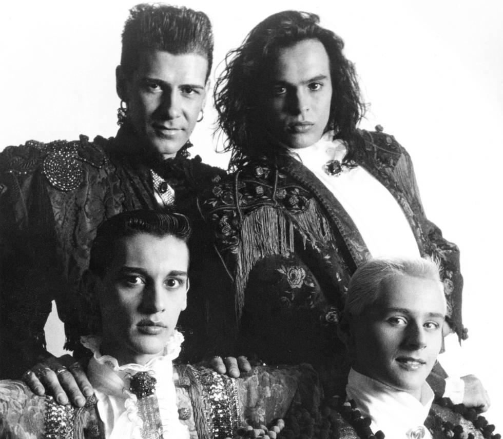 Imagen promocionial de Locomía, en 1990.