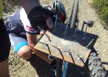 Cycle-route booby traps: a growing danger for Spain's mountain bikers