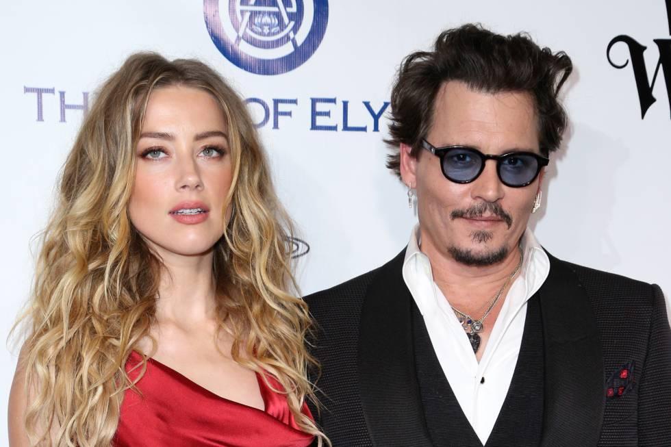 Johnny Depp y Amber Heard en enero de 2016, en una de sus últimas apariciones públicas.