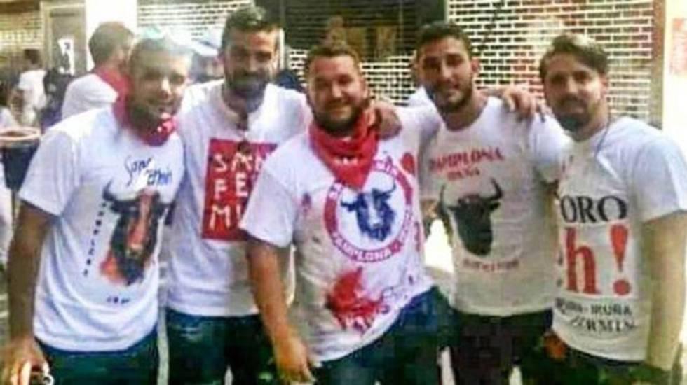 Pamplona gang rape: 'La Manada' sex offenders jeered by public at