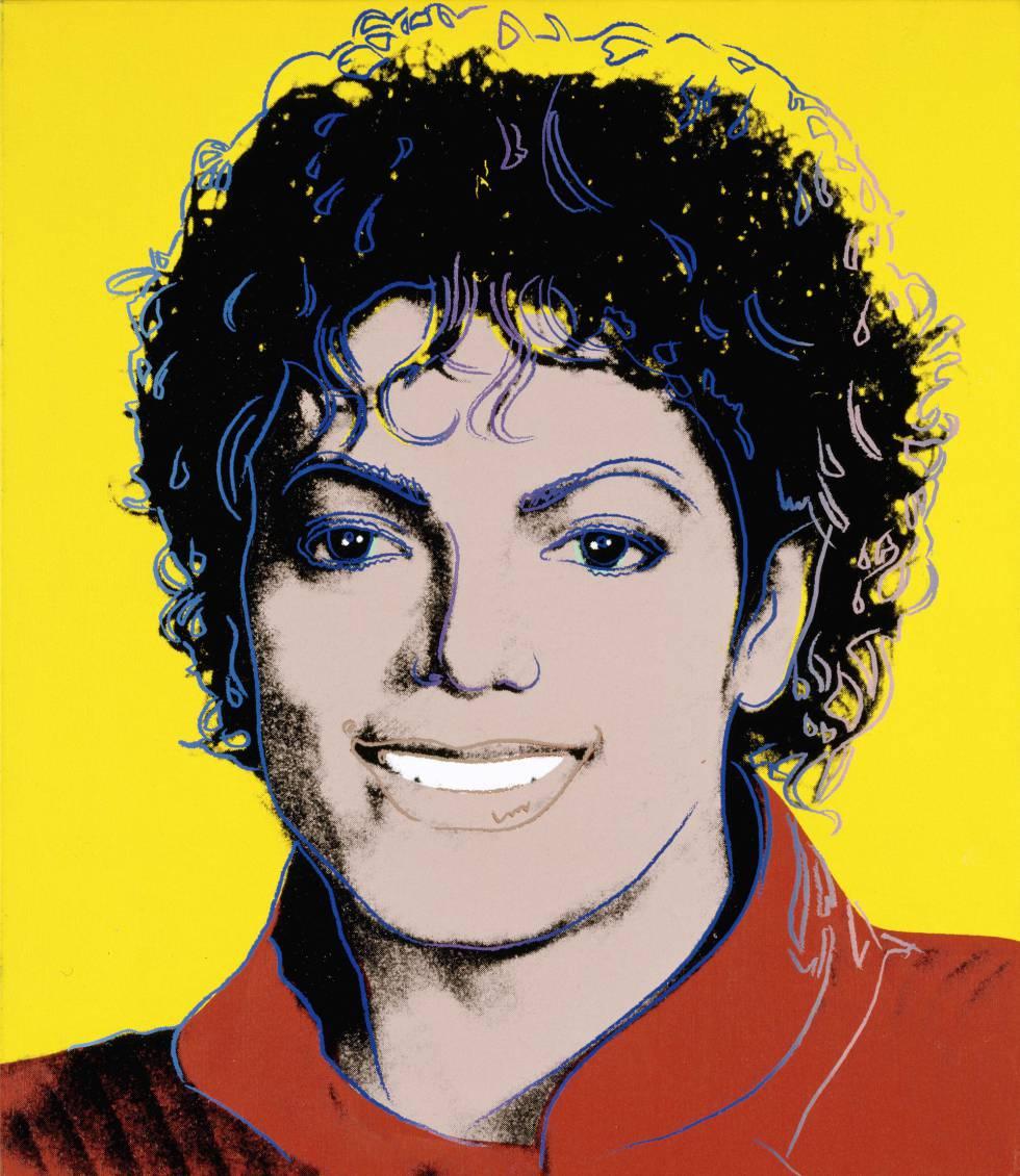 Retrato de Michael Jackson por Andy Warhol