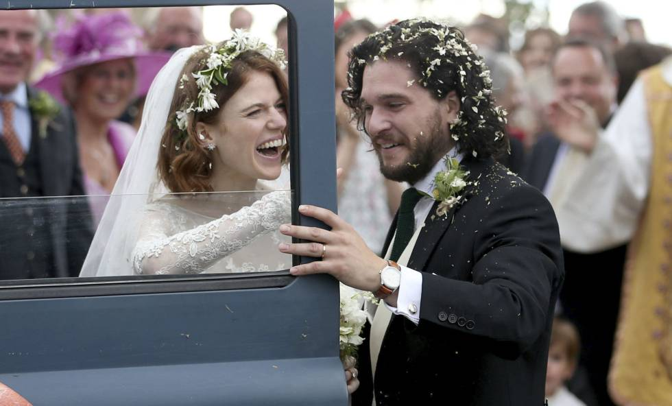 276d83eec0 Kit Harington y Rose Leslie