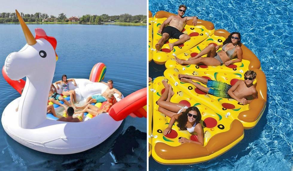 El flotador del unicornio y otros 12 modelos locos que puedes comprar en internet escaparate - Flotadores gigantes ...