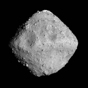 El asteroide 'Ryugu'.