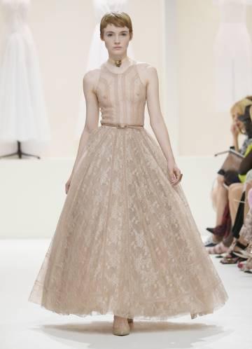 Un diseño de Christian Dior Haute Couture OtoñoInvierno 2018-2019.