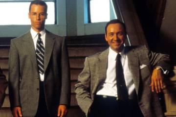 Guy Pearce y Kevin Spacey en 'L. A. Confidential'.