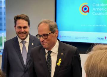 "Catalan premier in Washington: Catalonia ""will soon be a free nation"""