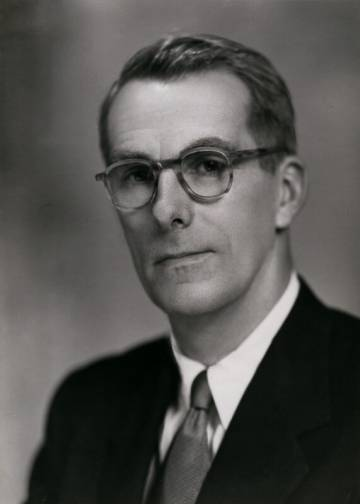 Fraser Brockington in 1952.