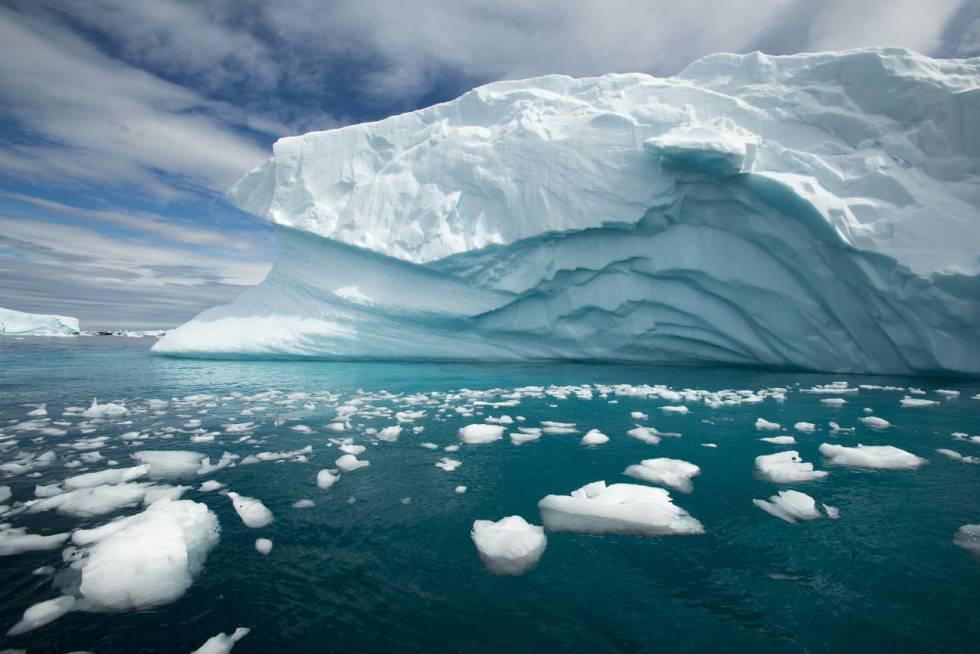 Resultado de imagen de hielo antartida