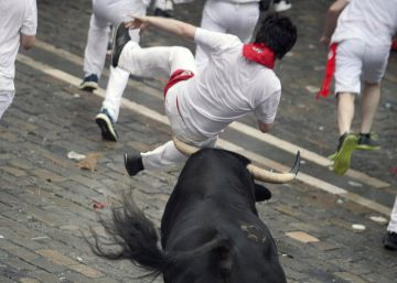 In photos: Day 1 of the Running of the Bulls 2018