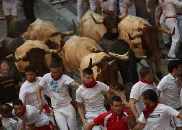 In photos: Day 2 of the Running of the Bulls 2018