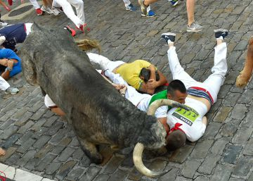 In photos: Day 3 of the Running of the Bulls 2018