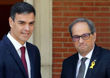 Spanish PM and Catalan premier meet in Madrid for first time in two years