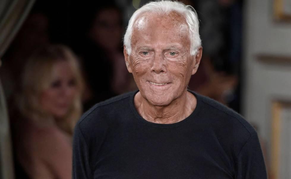 wholesale dealer a659a aa5e4 Giorgio Armani cumple 84 años sin parar de trabajar   Gente ...