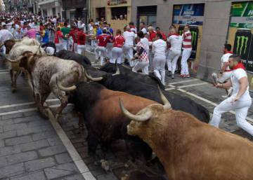 Day 4 of the Running of the Bulls 2018, clean and quick with few injuries