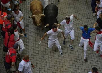 In photos: Day 4 of the Running of the Bulls 2018