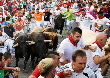 In photos: Day 5 of the Running of the Bulls 2018