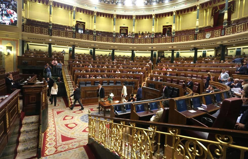 Pleno del Congreso de los Diputados.rn rn rn