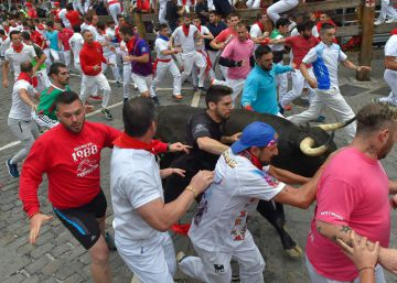 In photos: Day 7 of the Running of the Bulls