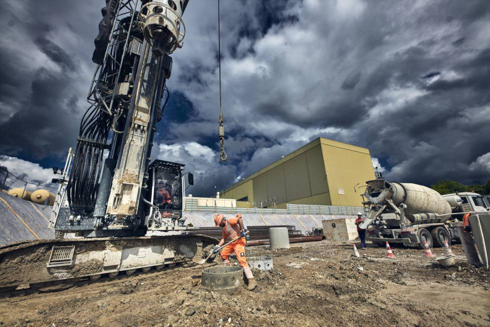 Comienzo de las obras de ingeniería civil para HiLumi LHC.