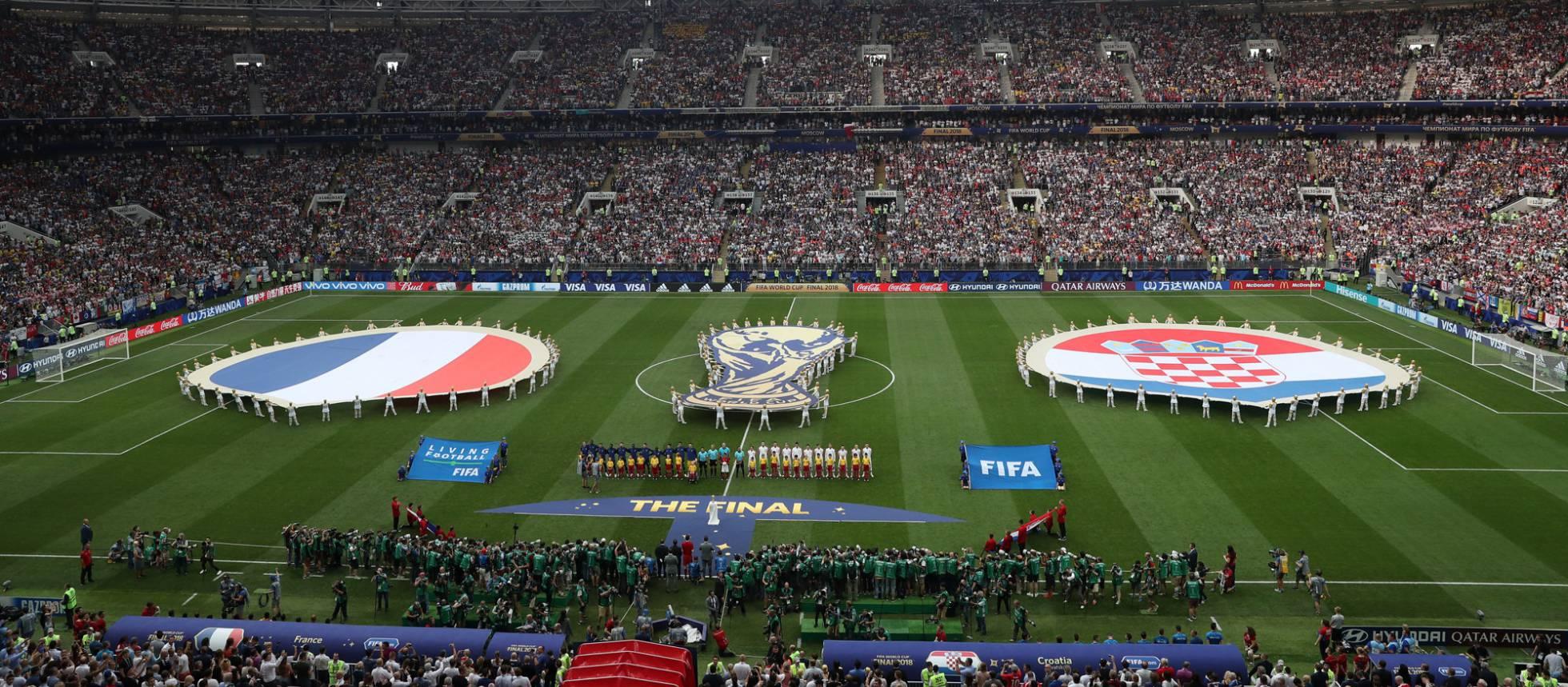 Francia Croacia La Final Del Mundial De Rusia  En Imagenes