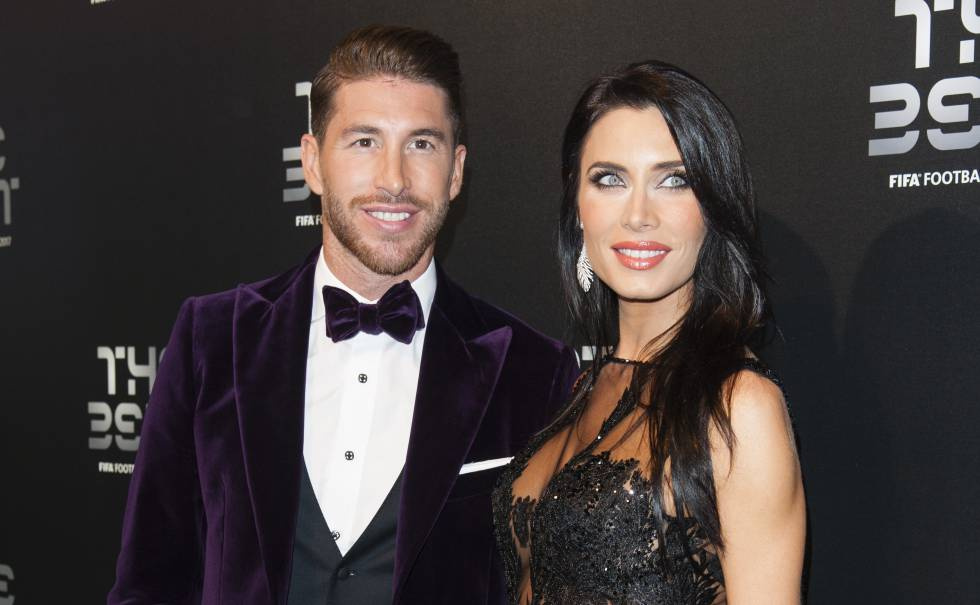 Image result for Pilar Rubio with ramos