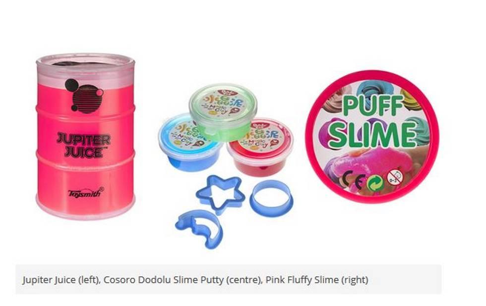 """Los expertos inciden en que """"menos del 30% de los juguetes 'slimes' cumple con los estándares de seguridad"""""""