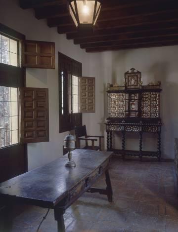 Casa de Cervantes en Alcalá de Henares.