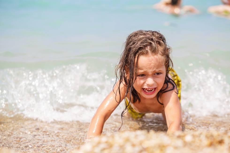Qué hacer cuando a tu hijo no le gusta el agua
