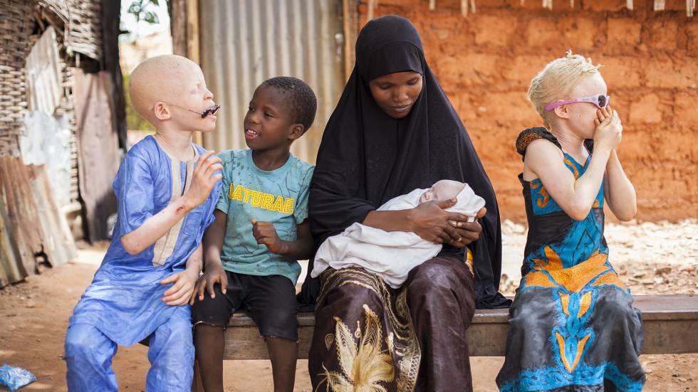 Parte da família de Mafanta Cissé