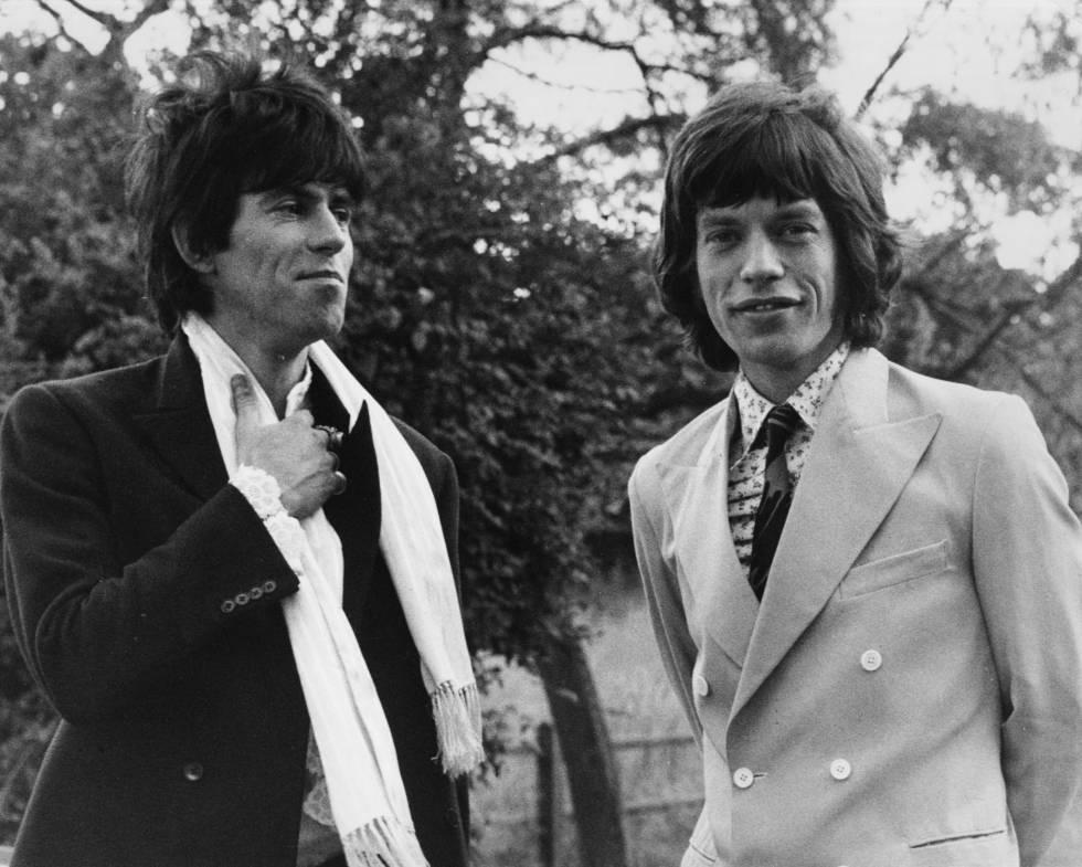 No hay relación más de amorodio que la de Mick Jagger y Keith Richards. Claro, llevan trabajando juntos más de 50 años. Aquí están en Inglaterra en 1967.