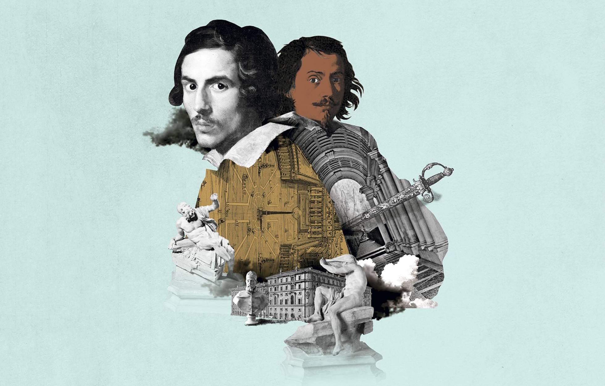 El odio entre arquitectos que acabó inventando el barroco | imagen del diario El País.