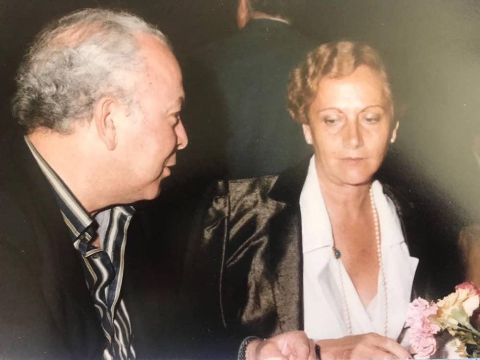 Isabel Moreno Puncel, junto a Jesús Polanco en una foto sin datar.