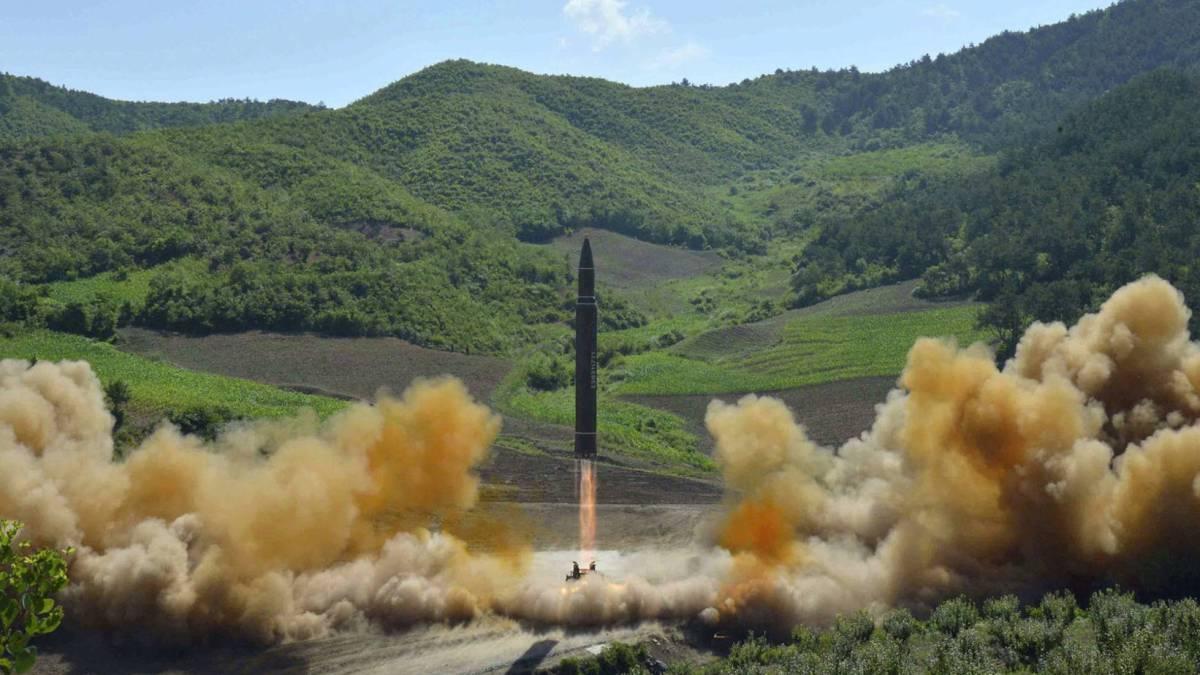 Foto distribuida por Pyongyang en 2017.