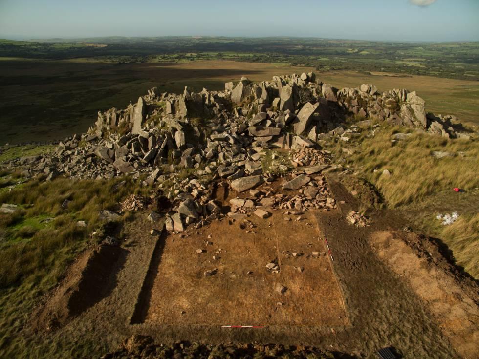 Las montañas de Preseli (Gales), origen de algunas piedras de Stonehenge.
