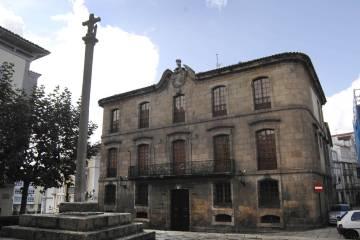 La Casa de Cornide, situada en la Ciudad Vieja de A Coruña.