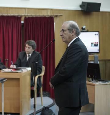 Francis Franco Martínez Bordiú durante su juicio en Teruel, el 22 de enero de 2018.