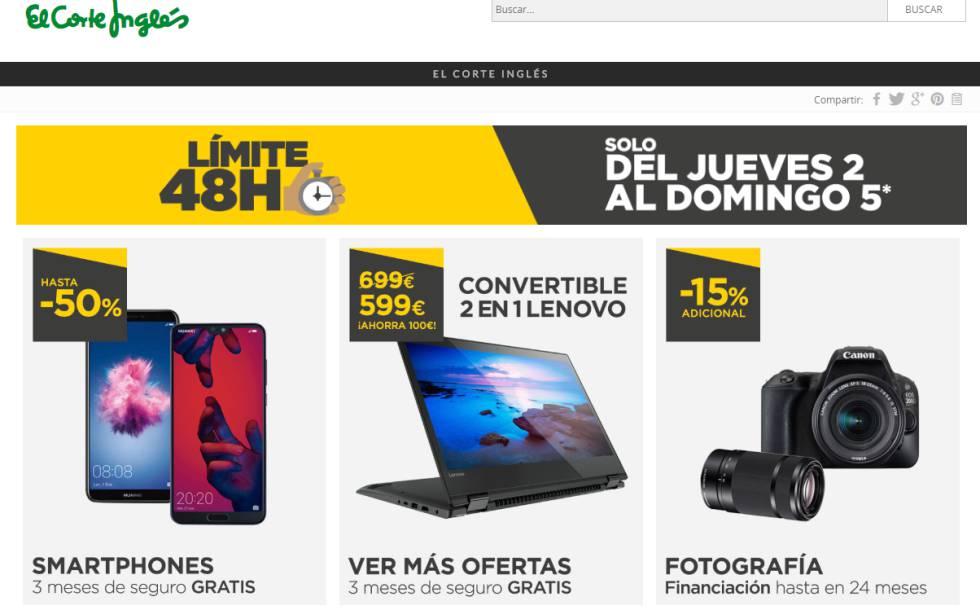 1b69ae782083 Las mejores ofertas de la semana en Amazon, El corte Inglés, eBay y ...
