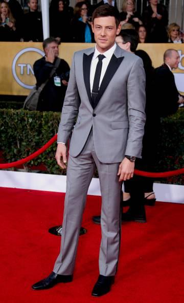 El actor Cory Montheith en enero de 2013 en Los Ángekes,
