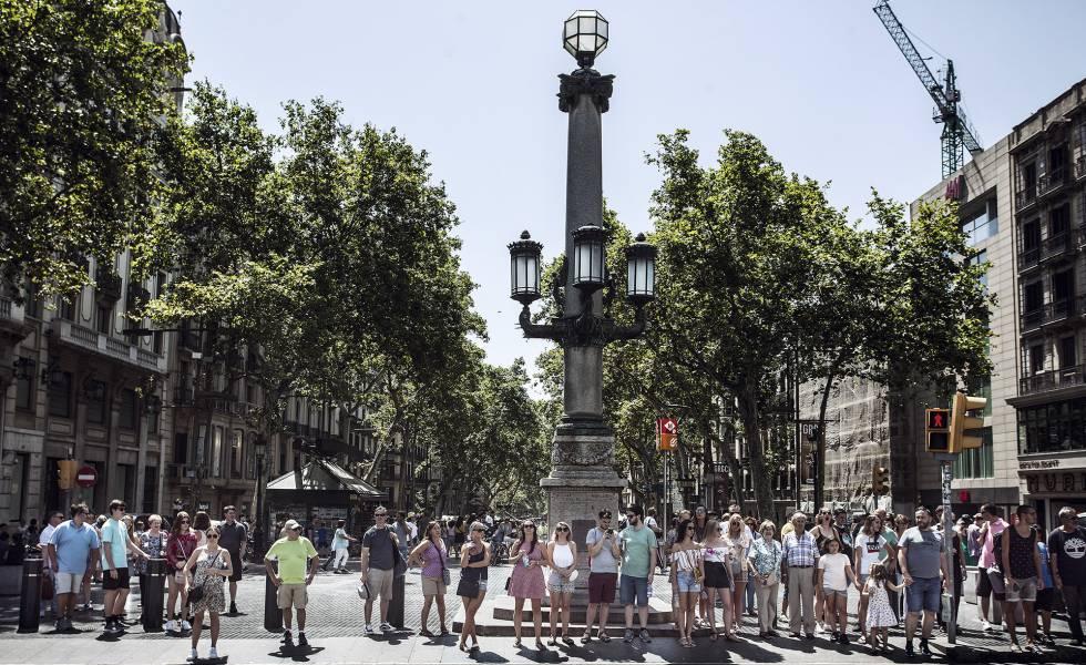 One year on from Barcelona terrorist attacks: La Rambla