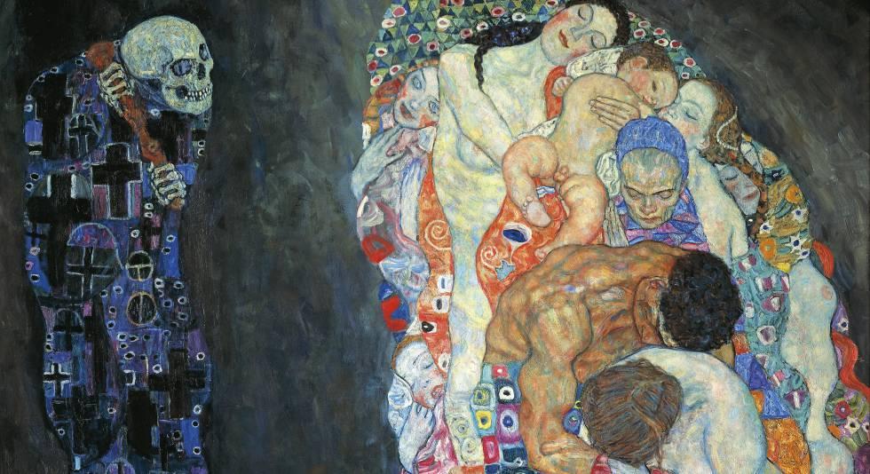 'Vida y muerte', de Gustav Klimt (1862-1918).rn