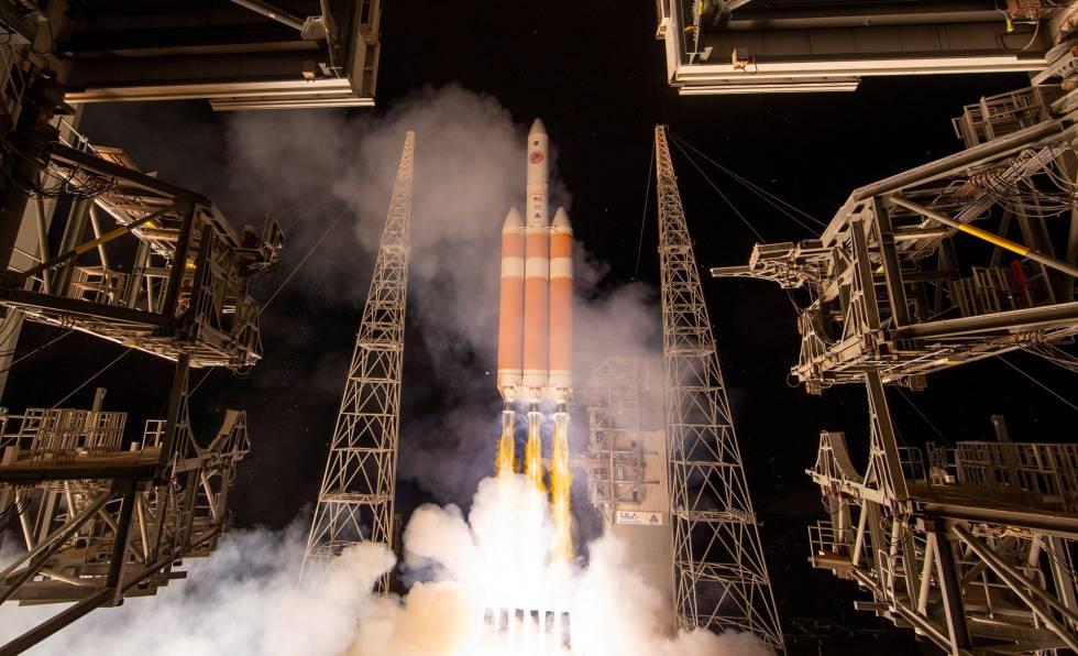 Lanzamiento de la sonda Parker este domingo en Cabo Cañaveral.